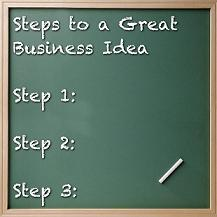 3 steps to great business idea